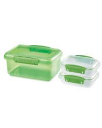 Sistema Bright Storage 3 Pack - Green