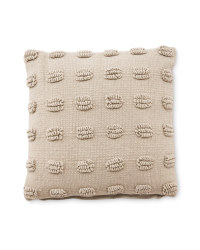 Kirkton House Loop Cushion - Grey