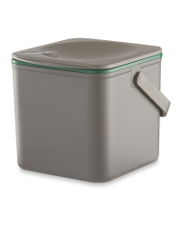 Minky Pastel Compost Caddy - Grey