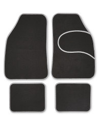 Auto XS Universal Car Mat Set - Grey