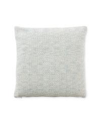 Kirkton House Textured Cushion - Light Blue