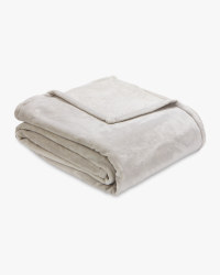 Luxury Cashmere Feel Throw - Light Grey