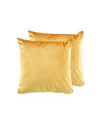 Kirkton House Cushions 2 Pack - Ochre