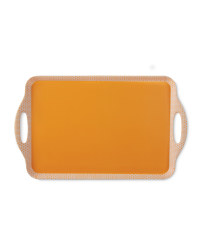 2-Handled Tray - Orange