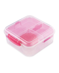 Sistema Bento Cube To Go Lunch Box - Pink