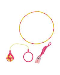 WHAM-O 3-in-1 Hula Hoop - Pink