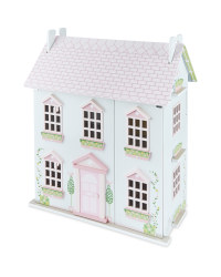 Little Town Wooden Doll's House - Pink