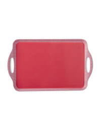 2-Handled Tray - Pink