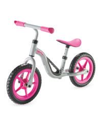 Chillafish Balance Bike - Pink/Silver