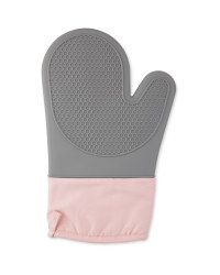 Kirkton House Silicone Oven Glove - Pink