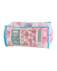 Little Town Play Balls 100 Pack - Pink