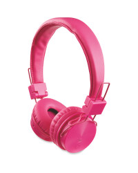 Bauhn Kids' Bluetooth Headphones - Pink
