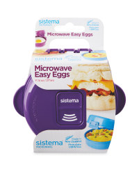 Sistema Microwave Easy Eggs - Purple