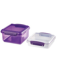Sistema Bright Storage 2 Pack - Purple
