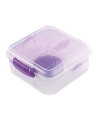 Sistema Bento Cube To Go Lunch Box - Purple