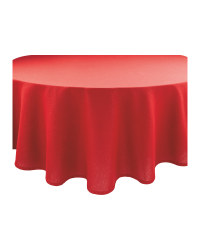 Sparkle Circle Table Cloth - Red