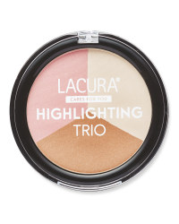 Lacura Highlighter Trio - Rosy Glow