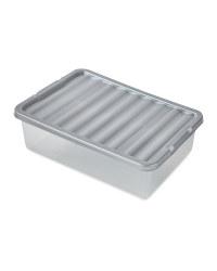 Premier 32L Storage Box - Silver