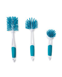 Kirkton House Kitchen Brush 3 Pack - Teal