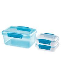 Sistema Bright Storage 3 Pack - Teal