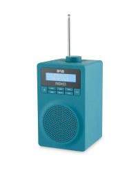 Reka DAB & FM Radio - Teal