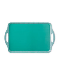 2-Handled Tray - Teal