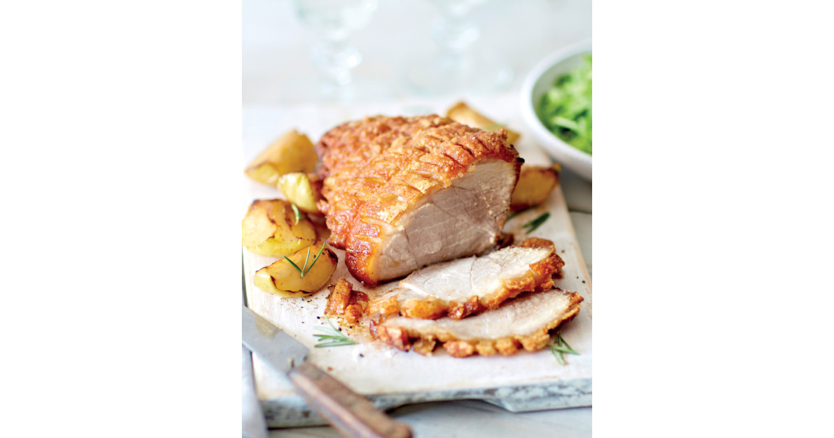how to cook pork crackling leg joint