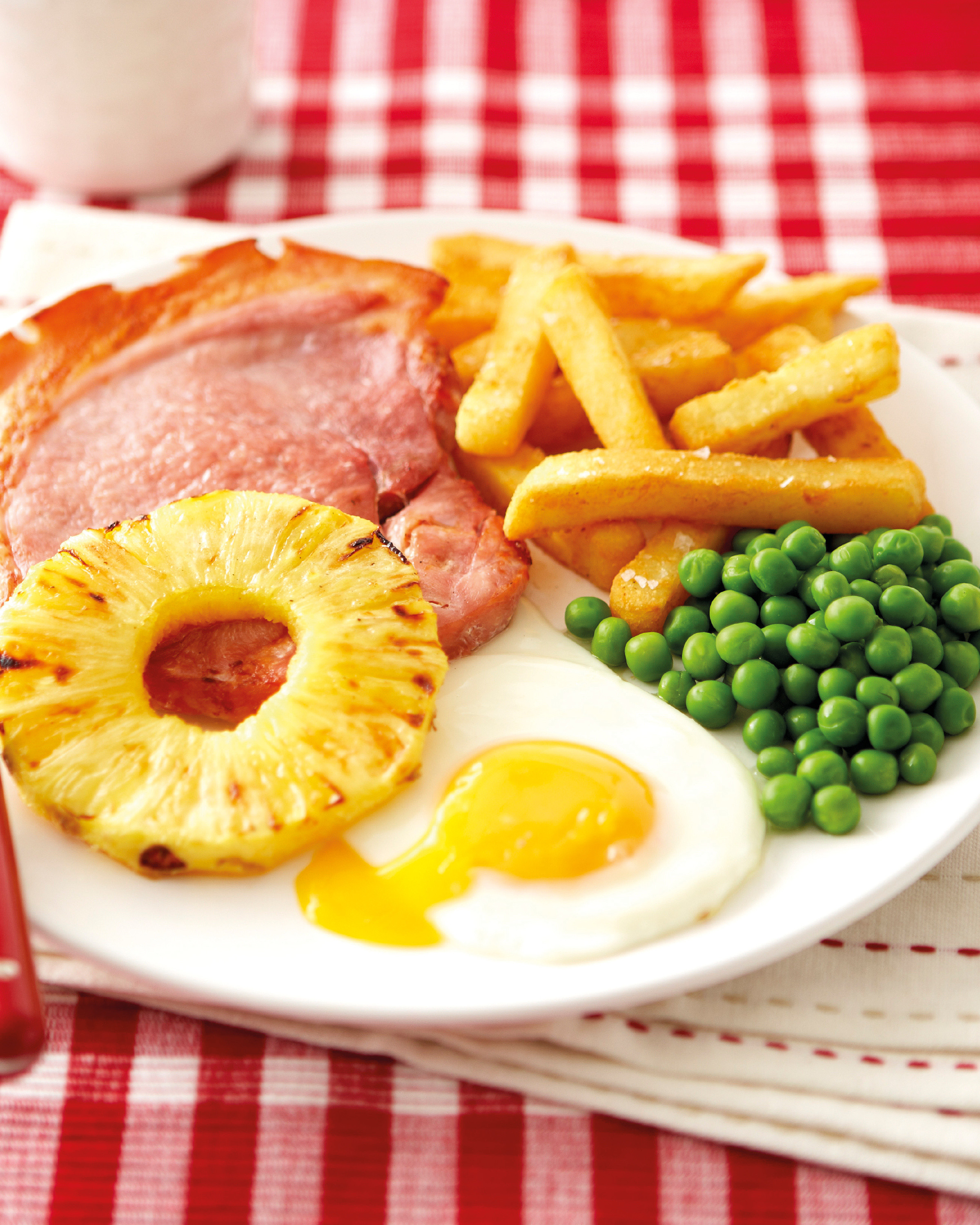 Gammon With Pineapple Rings