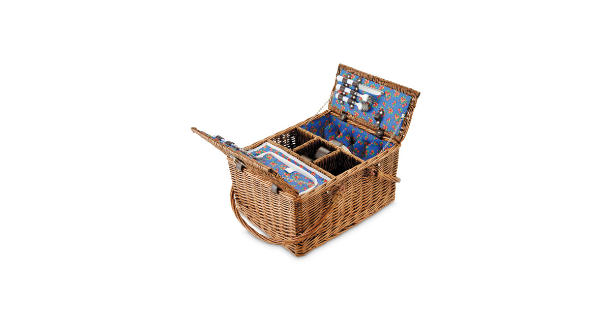 Aldi Picnic Basket Australia : Wicker picnic hamper basket aldi uk