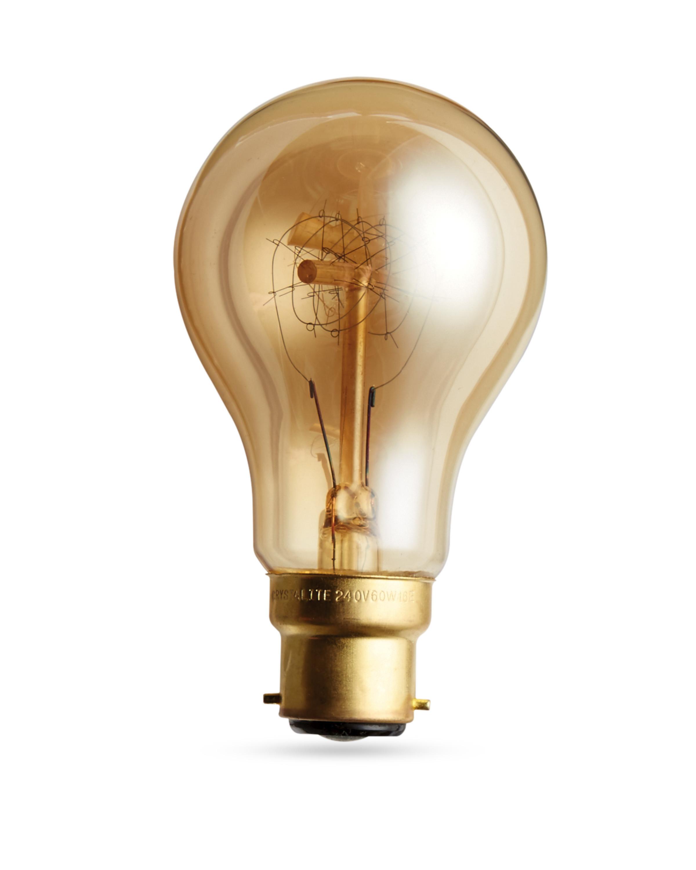 60w ps60 antique style light bulb aldi uk
