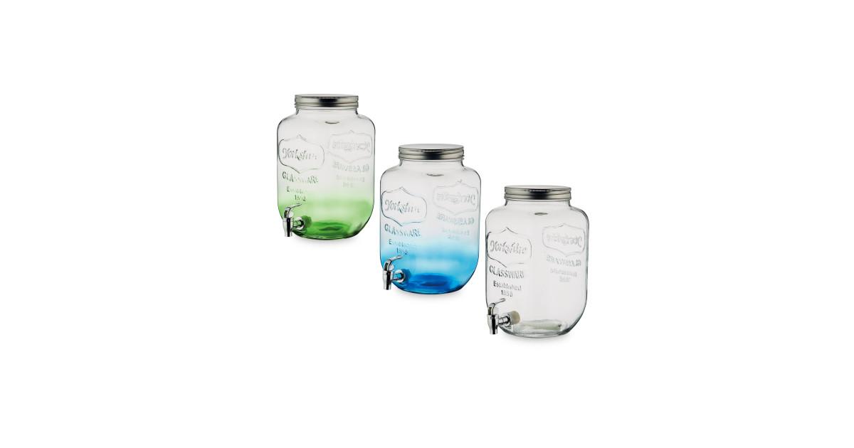 7 6l glass drinks dispenser aldi uk for Glas handtuchhalter aldi