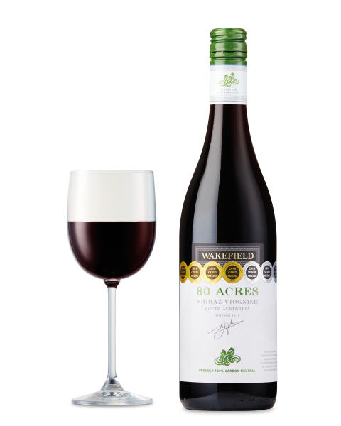 Wakefield 80 Acres Carbon-Neutral Shiraz Viognier, South Australia 2015