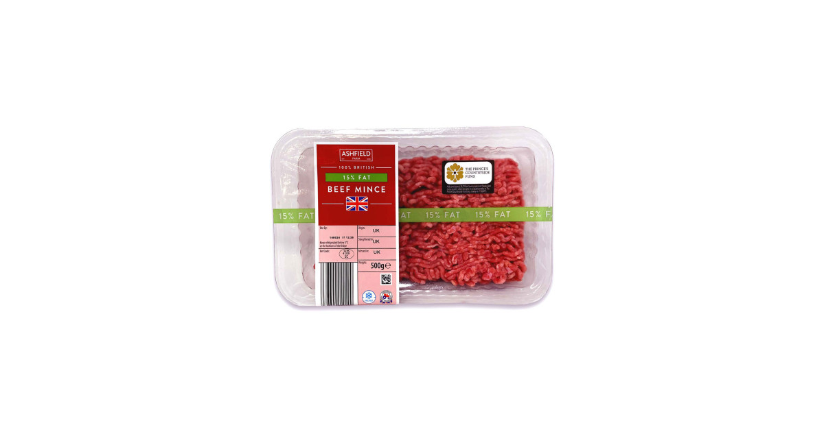 100% British 15% Fat Beef Mince - ALDI UK