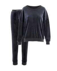 Blue Ladies Loungewear Set