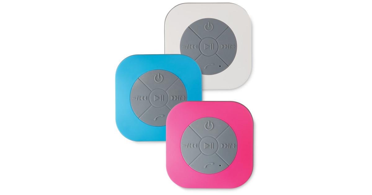 bluetooth shower speaker aldi uk. Black Bedroom Furniture Sets. Home Design Ideas