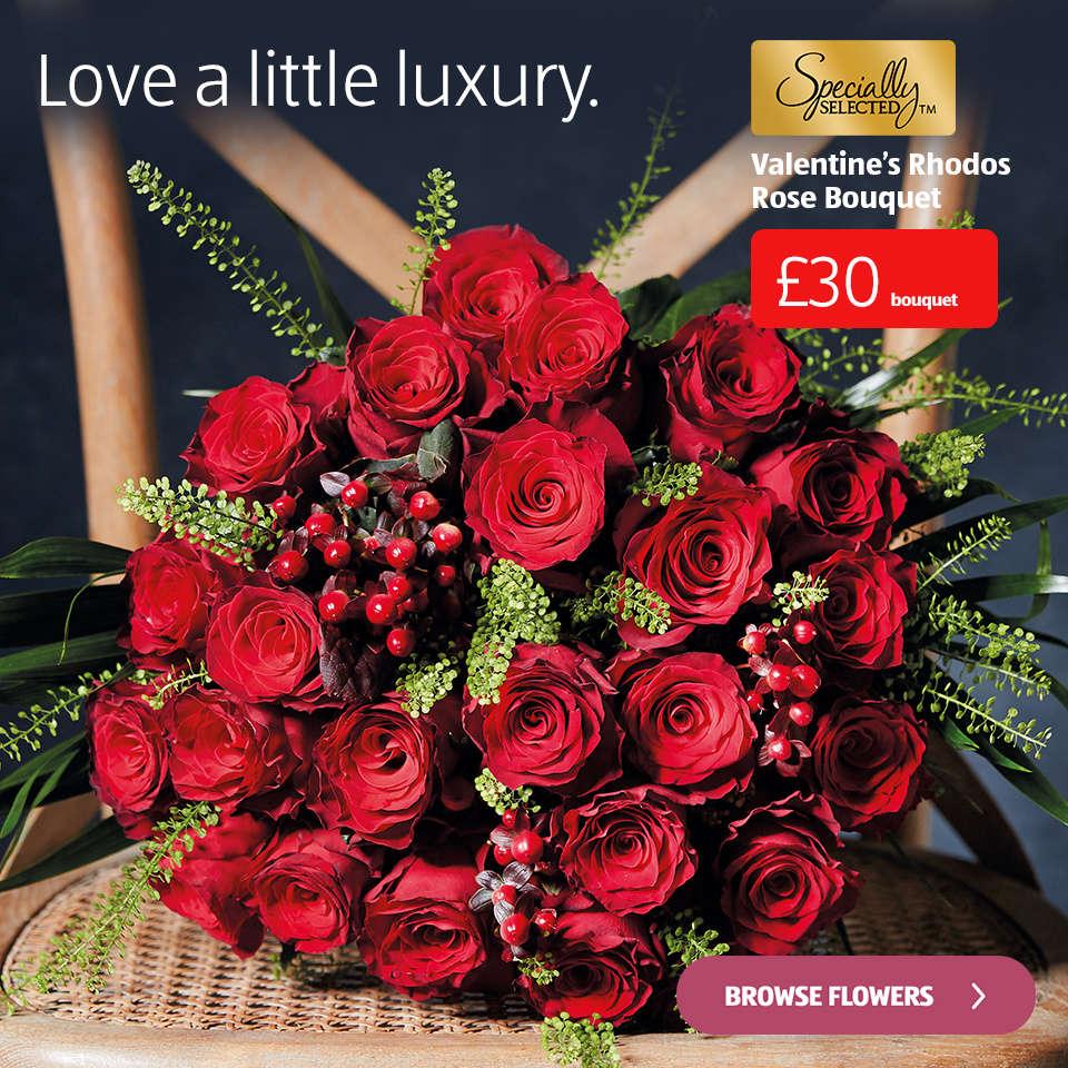 Valentines Flowers Aldi Uk
