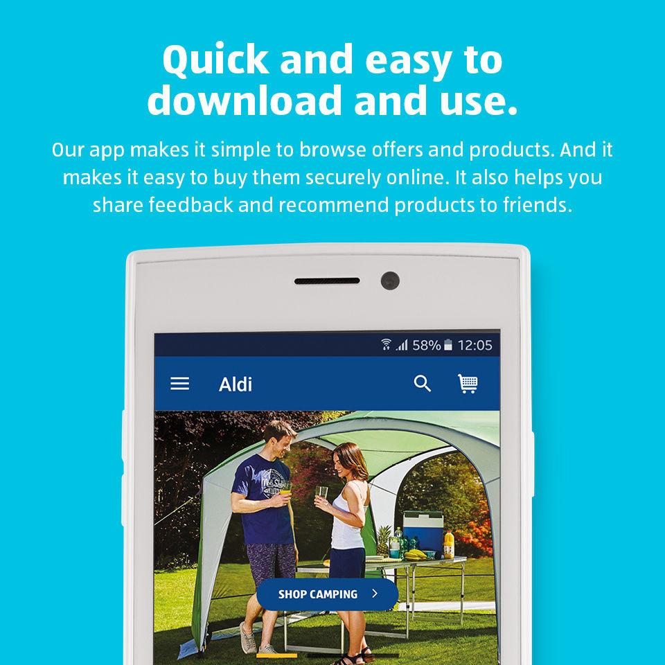 aldi mobile app aldi uk