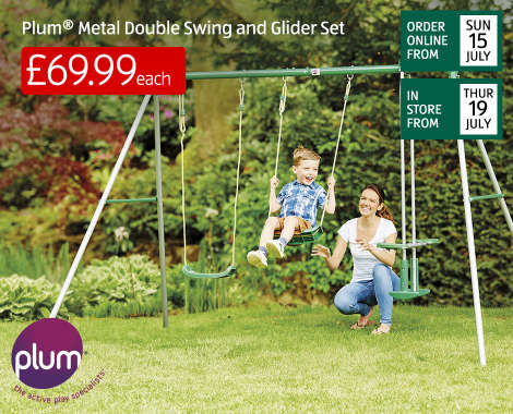 outdoor toys wooden playhouse bouncy castle aldi uk