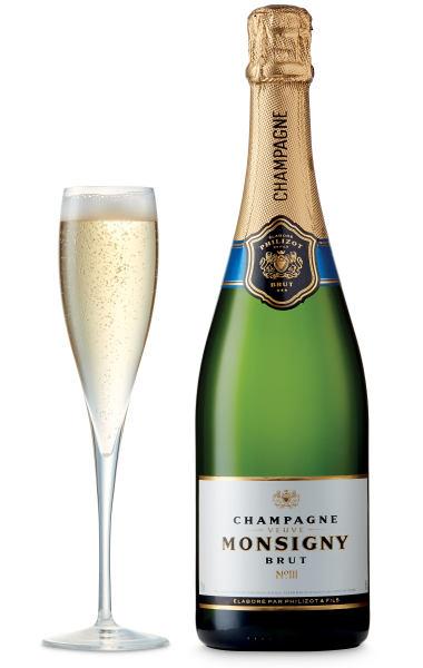 Veuve Monsigny Champagne Brut, FranceNV