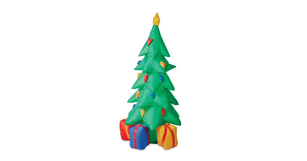 christmas tree 6ft inflatable aldi uk. Black Bedroom Furniture Sets. Home Design Ideas