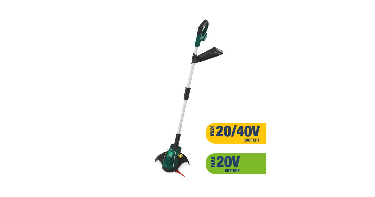 Ferrex Cordless Lawn Trimmer Skin Aldi Uk