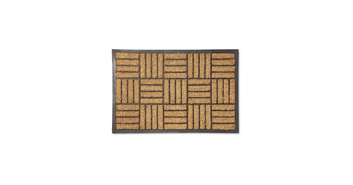 Gardenline Outdoor Coir Mat Aldi Uk