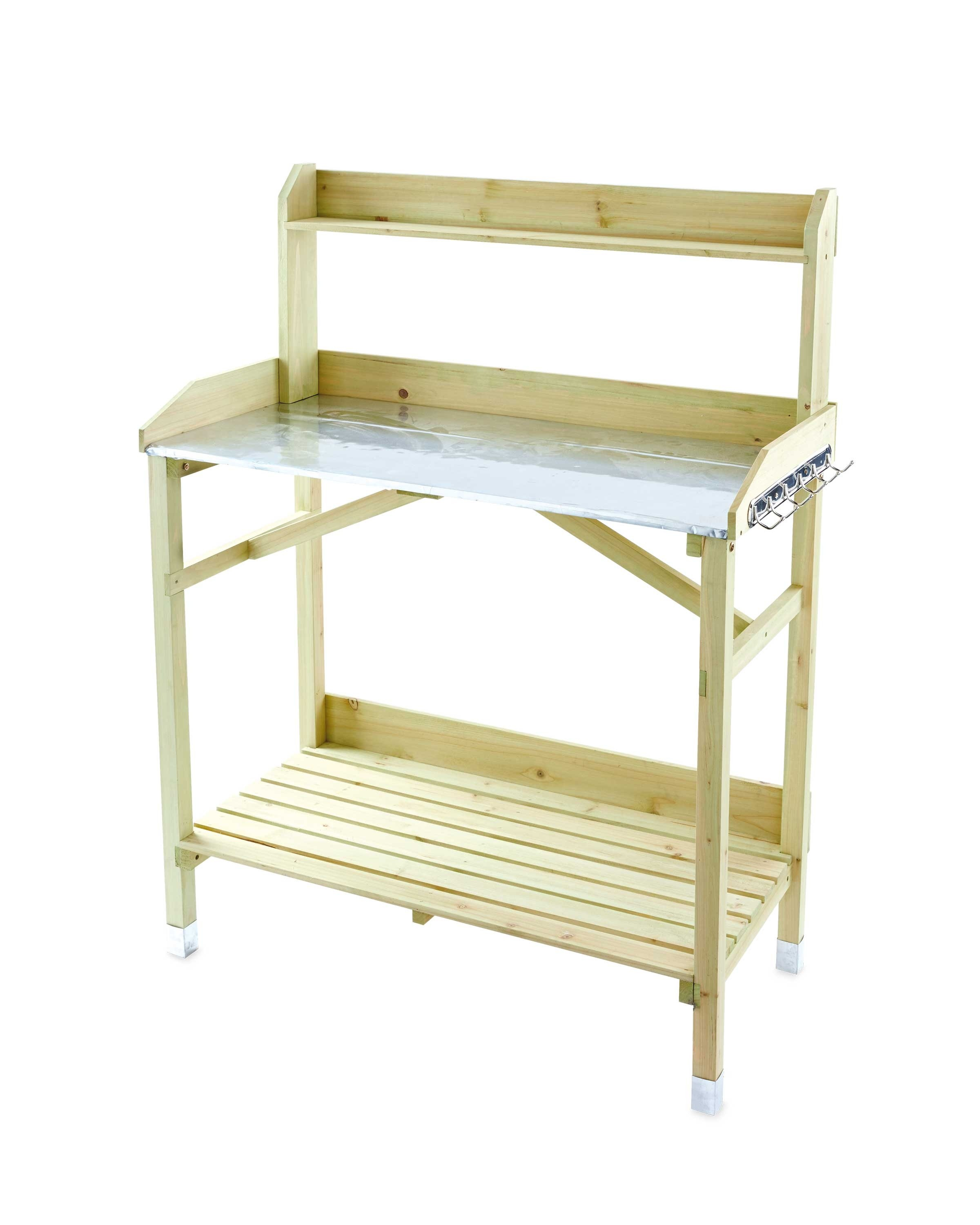 bench a p uk gardenline table potting aldi