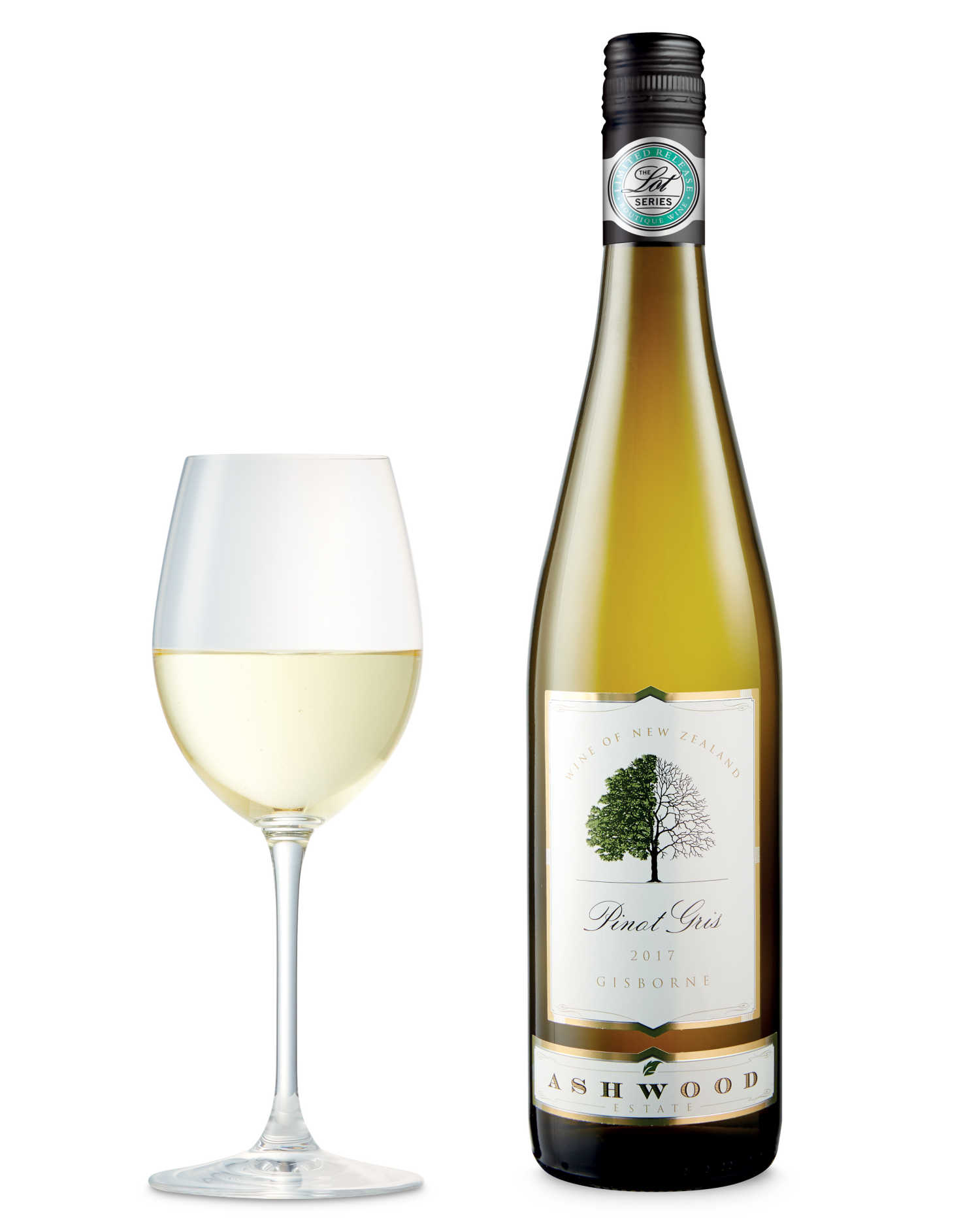 Gisborne Pinot Gris, Ashwood Estate, New Zealand 2017