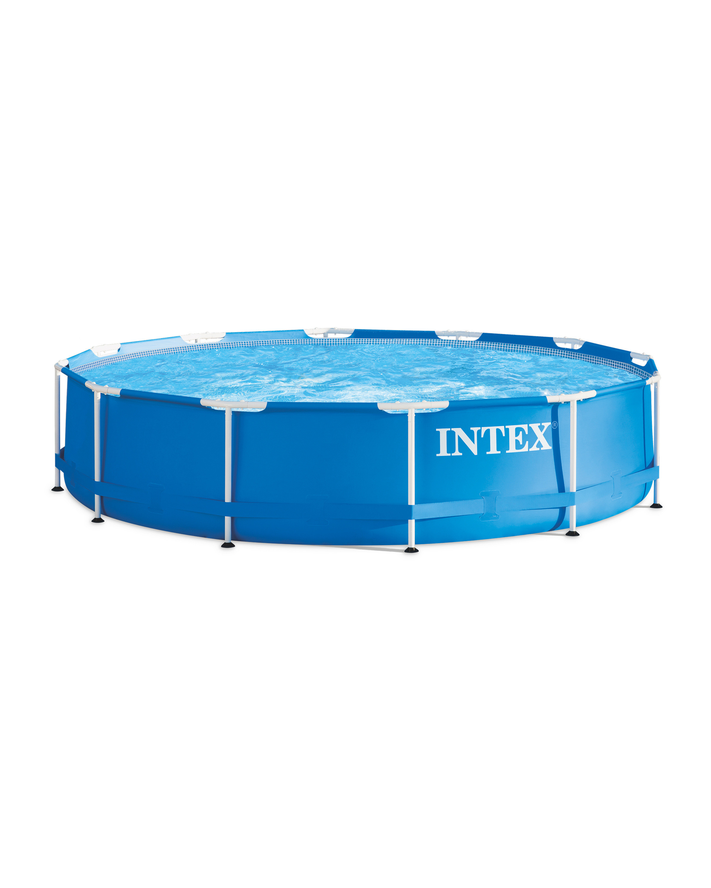 Intex 12 foot Metal Swimming Pool - ALDI UK