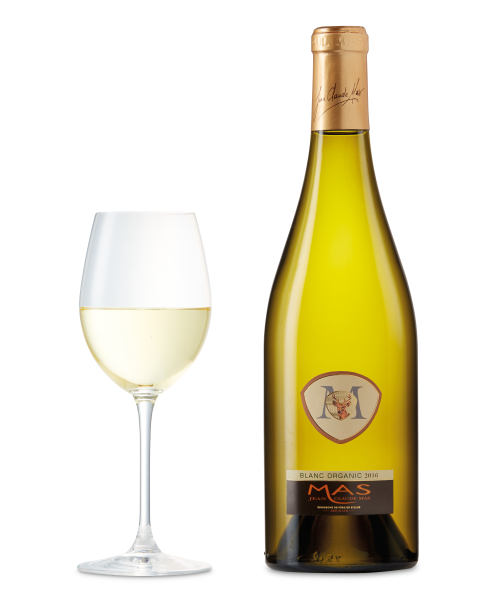 Jean Claude Mas French Estate Organic White Blend, IGP Pays d'Oc, France 2016