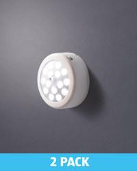 Led Motion Sensor Light 2 Pack Aldi Uk