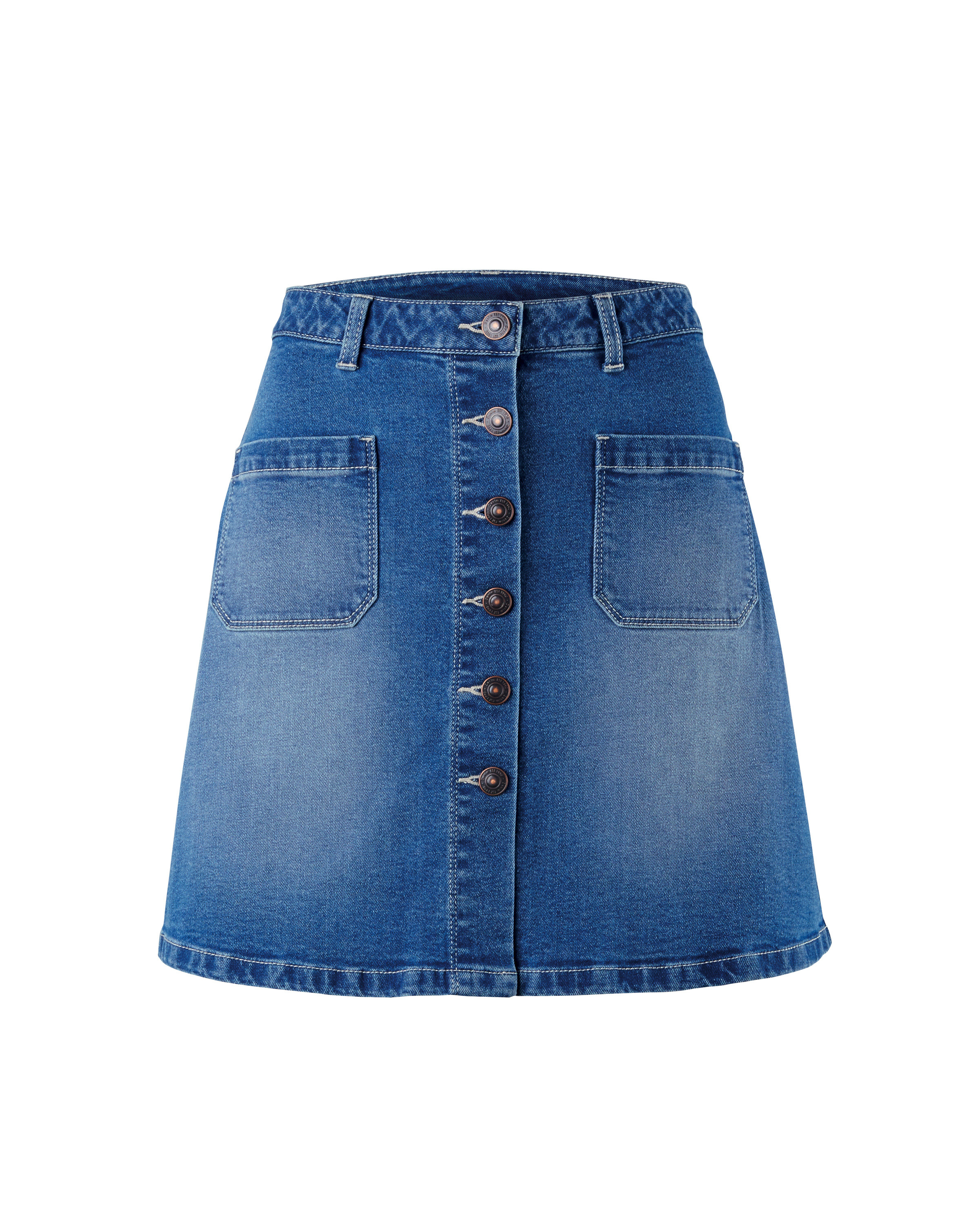 Ladies Jean Skirts - Dress Ala