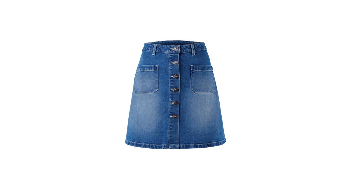Ladies' Denim Skirt - ALDI UK