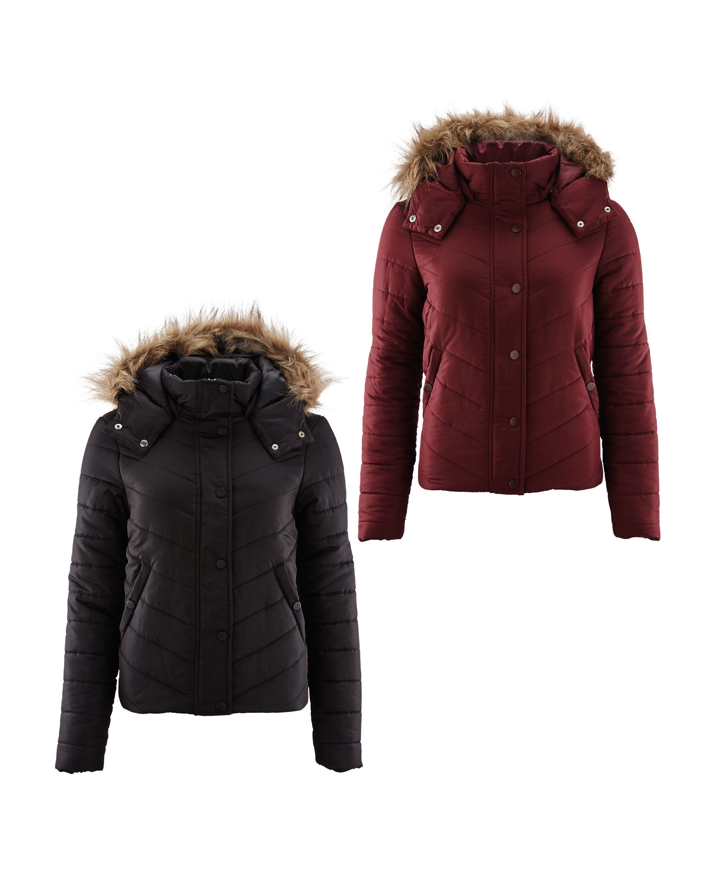 Ladies' Padded Jacket - ALDI UK